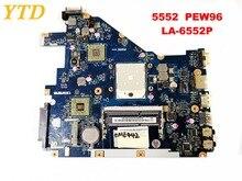 Original para ACER 5552 5552G placa base para portátil 5552 5552G PEW96 LA-6552P probada buena envío gratis