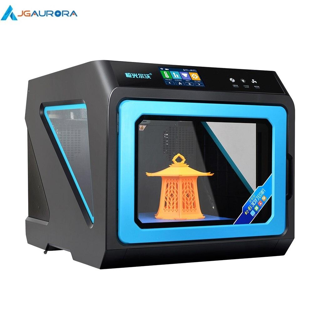 JGAURORA A7 imprimante 3D avec écran tactile multicolore amovible Hot End 3d Machine d'impression nouveau métal fermé