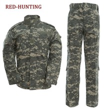 Airsoft Military Tactical Sets Special Force Combat Uniform Jacket&Pants Suits(China)