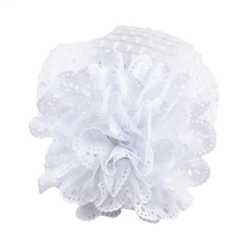 Lace Flower Hairband Headband Dress Up girl hair accessories headband cute hair band newborn floral headband WJul27 цены онлайн
