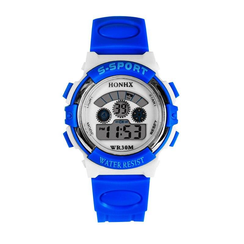 100pcs/lot HONHX T83 new digital watch BLACK colors silicone watch wrap camouflage wristwatch for children wholesale watch | Fotoflaco.net