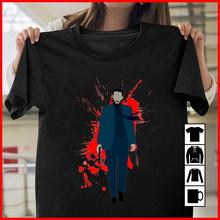 John Wick T-Shirt with Blood Splatter Cotton Fashion T Shirt Free Shipping Newest 2018 Top Tee Plus Size