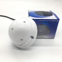 Cam 850nm IR LED Infrared Illuminator Light IR Night Vision For CCTV Security Cameras Fill Lighting Dome Ultra Wide Angle 180