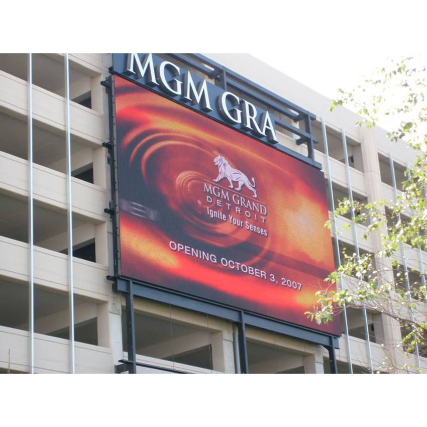 P8 Outdoor HD video wall full colour LED display screen, P8 LED Module Simple cabinet 768mm*768mm, outdoor large screen