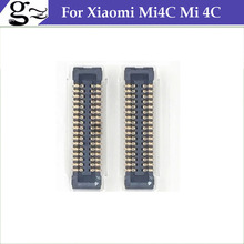 FPC connector For Xiaomi Mi4C Mi 4C Snapdragon 808 Hexa Core 5.0 Inch Android Cell Phone logic on motherboard mainboard;5PCS/LOT