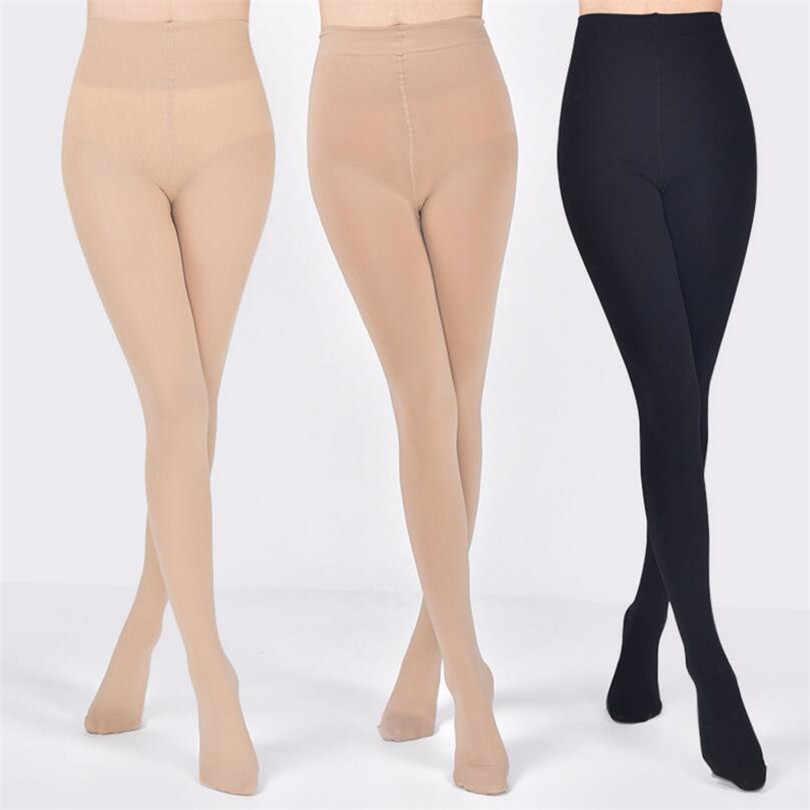 NDUCJSI 120D Tights หลายสีกำมะหยี่แน่นผู้หญิงถุงน่องใหม่ผู้หญิง Candy Pantyhose สีดำ Plus ขนาด Tights Stovepipe 8 สี