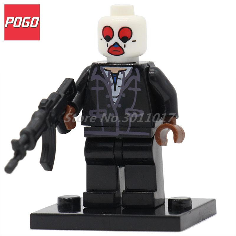 POGO Joker DC Super Heroes DIY Model Action Building Block Set Single Sale PG063 Classic Baby Brick Toys With
