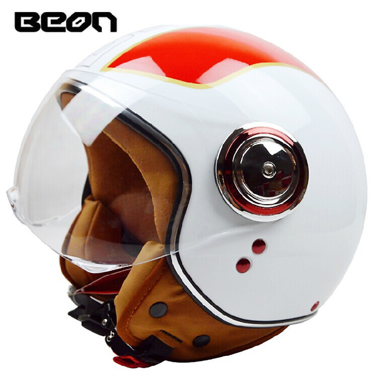 High quality Beon Motorcycle helmet,vintage scooter open face helmet,Fashion motociclistas capacete ECE Approved moto casco href page 1