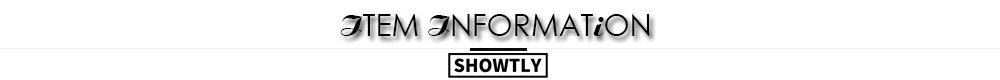 Showtly item information