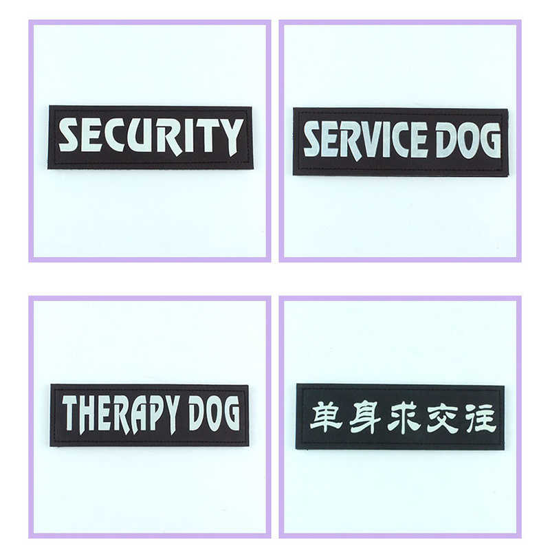 Arnés con nombre de Perro de 2 piezas con Velcro de 3cm x 11cm arnés para perros y cachorros para arnés personalizado