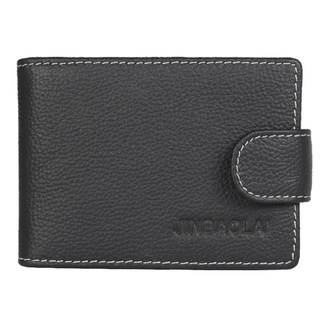 b7adb8103e89 Original Genuine Leather Hasp ID Credit Card Holders New Design Business  Card wuth 9 card Slots Small Coin Purse Clutch Wallets
