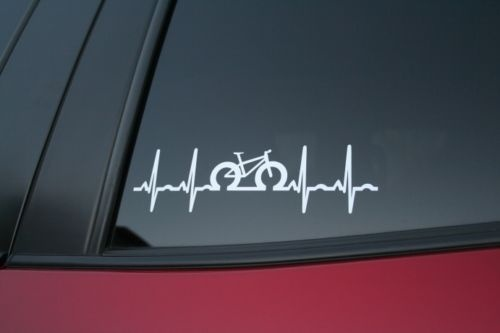 Car styling for fat bike heartbeat die cut car window sticker in car stickers from automobiles motorcycles on aliexpress com alibaba group