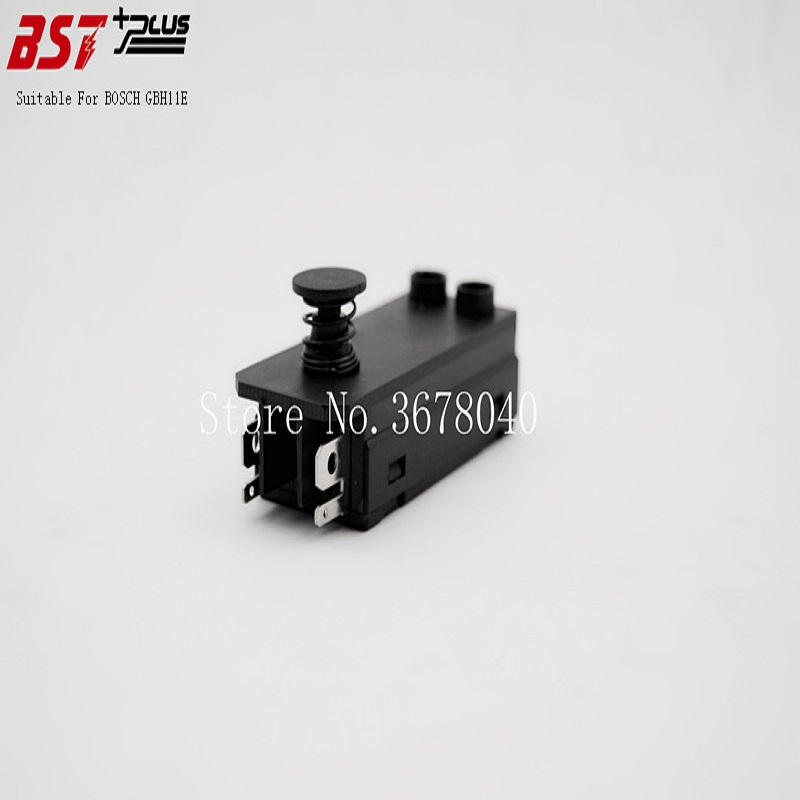 Galleria fotografica AC250V 8A GRILLETTO BUTTON SWITCH PER <font><b>BOSCH</b></font> GBH11E DEMOLITION HAMMER