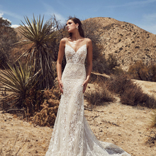 Vintage Vestido De Noiva Wedding Dress 2019 V-neck backless