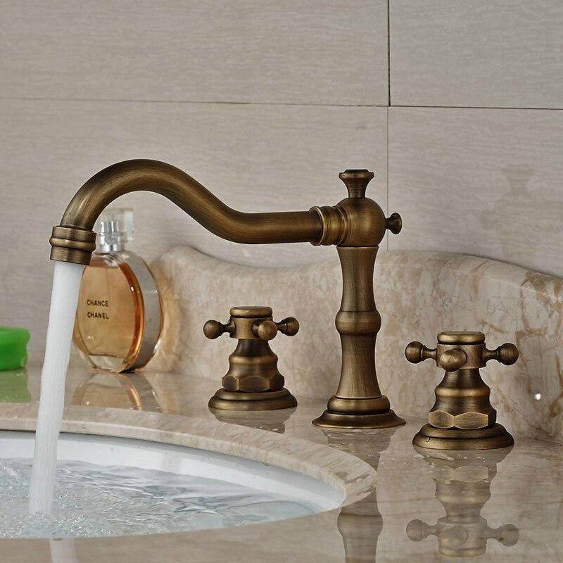 Piece Bathroom Faucet Antique PromotionShop For Promotional - 3 piece bathroom faucet