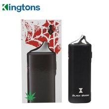 Original Kingtons Black Widow Dry Herb Vaporizer with 2200mAh Battery Electronic Cigarette Herbal Vape Pen
