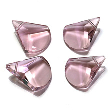Shangquan Pendant AAA crystal beads 24*19mm 10pcs Drop glass for jewelry making Necklace DIY