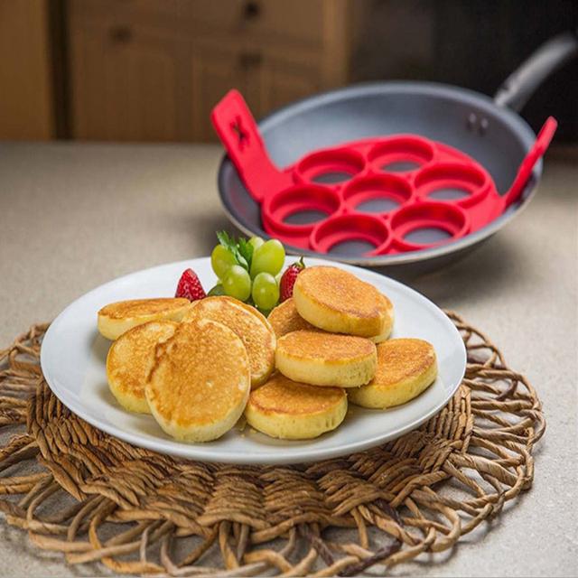 Unique kitchens Pancakes Cooking Tool Egg Pan Flip Breakfast Maker