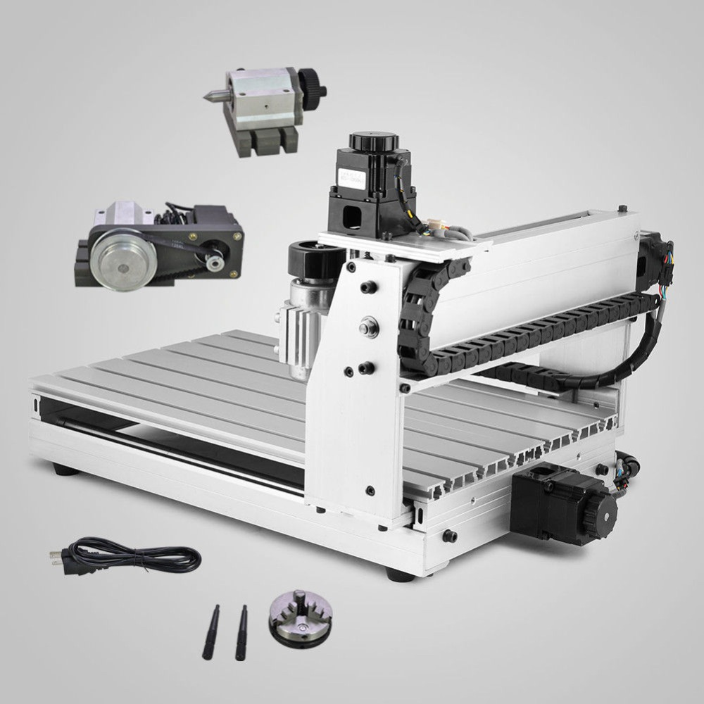 CNC 3040 4 axis Engraving Machine CNC Milling Machine mini Engraver for wood working