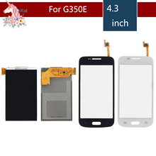 4.3 For Samsung Galaxy DUOS Star 2 Plus SM-G350E G350E LCD Display With Touch Screen Digitizer Sensor Replacement цена