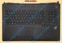 BE Keyboard for ASUS G750 G750JH G750JM G750JS G750JW G750JX G750JZ with backlight top case palmrest Belgian layout