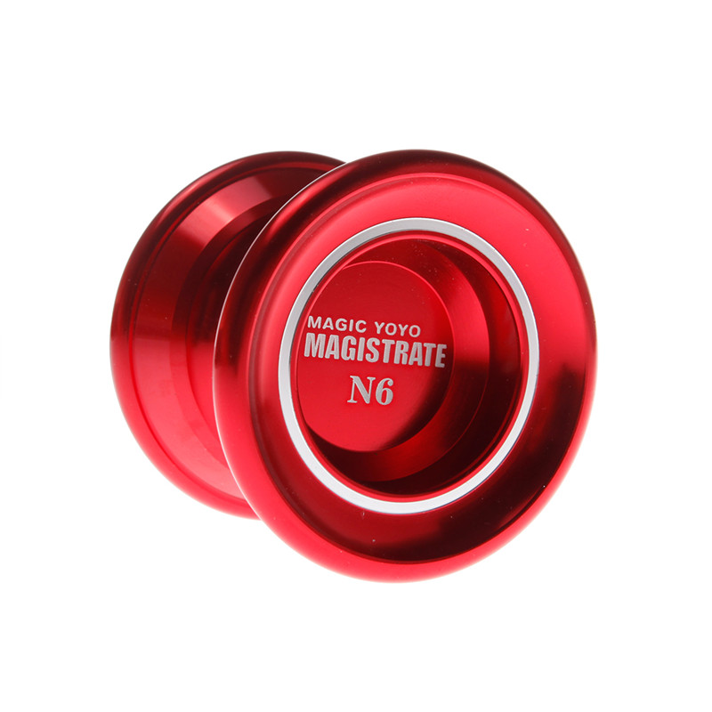 Golden/Red/Silver Christmas Gift Magic Yoyo N6 Professional Gaming Yoyos 1A 3A 5A Toy Yo Yo Ball for Boys Yo-yo for Girl