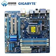 Gigabyte GA-H55M-UD2H Intel H55 Original Used Desktop Motherboard LGA 1156 i7 i5 i3 DDR3 16G SATA2 USB2.0 DP E-Sata Micro-ATX asus p8h61 m plus desktop motherboard h61 socket lga 1155 i3 i5 i7 ddr3 16g uatx on sale