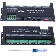Декодер dmx 512 30 каналов контроллер rgb декоративная светодиодная
