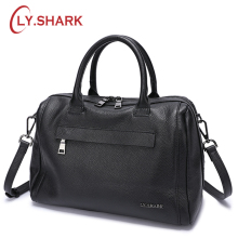 LY.SHARK Genuine Leather Women Bag Shoulder Bag Ladies Crossbody Bag Women Handbags Messenger Bag For Women 2018 Handbags Female hot 2018 classic trunk crossbody bag with studs panelled women split leather handbags lady bag messenger bag for female an703