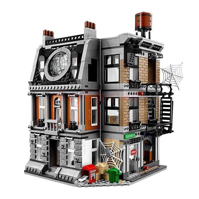 1125 pièces 07107 Super héros Sanctum Sanctorum Showdown blocs de construction assembler ensemble Compatible Legoing 76108 briques jouets - 5