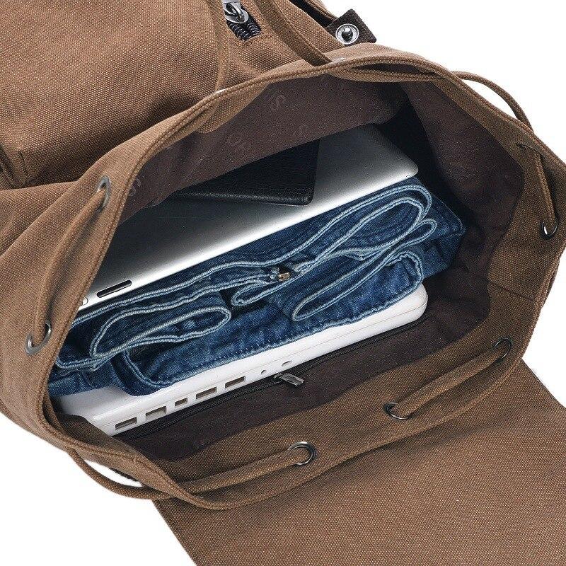 moda homens diárias lona mochilas Tipo de Item : Mochilas