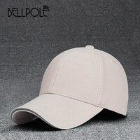 BELLPOLE גברים נשים כובע בייסבול Casquette כובעי Snapback כובעים לגברים כובעי בייסבול Planas Gorras המוצק עצם רגיל ריק