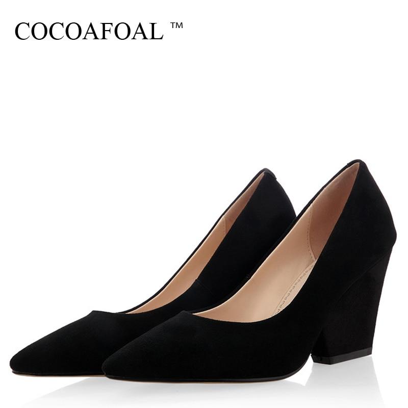 De Des Mode Noir Cuir Femme Ultra Hauts Bout Pointu Mariage Pompes En Véritable Cocoafoal Mouton Talons Wedge Chaussures Peau nx0XqfHY