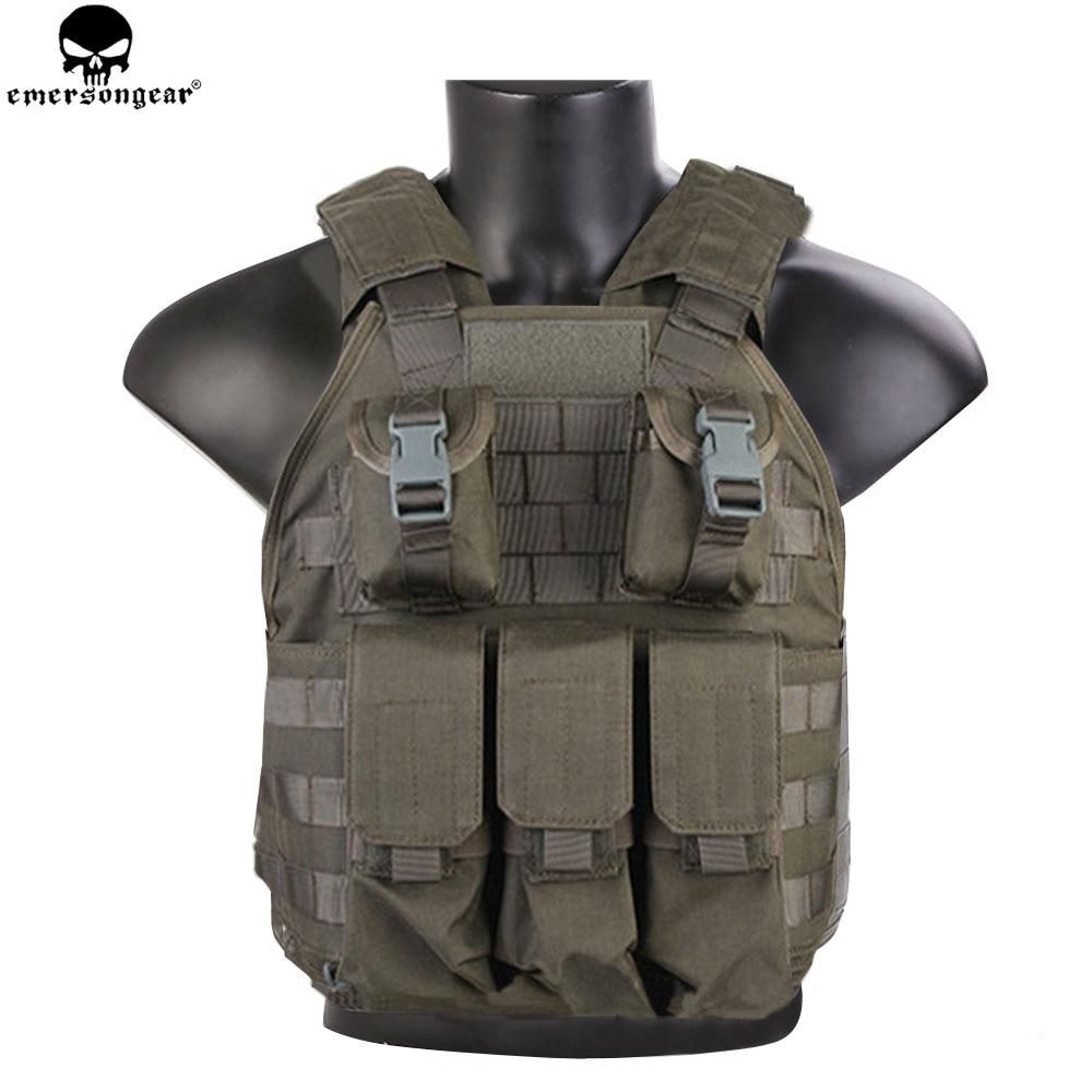 EMERSONGEAR SPC Тактический жилет Wargame армейский Военный охотничий жилет с панелями жилетка разгрузка FG EM7320