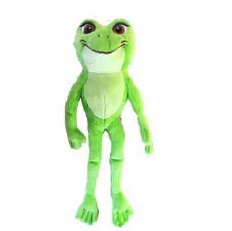 Princess Exclusive Princess and the Frog 30cm Full Length Plush Toy - Princess Tiana as Frog