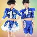 Girl Boy Jazz Dance for Girls Jazz Dance Costumes for Girls Kids Boy Hip Hop Dancing Children Performance Jazz Costume for Boys