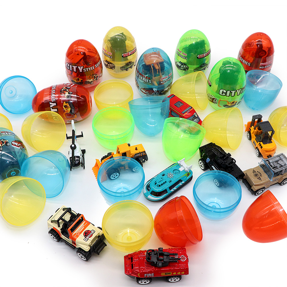 1pcs Novelty Mini Pull Back Car Surprise Egg Kids Toy Gadget Children Surprise Birthday Gift