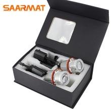 2* LED CANBUS For BMW e39 e53 e60 e61 e63 e64 e65 e66 e83 e87 e36 angel eye light car styling lamp Marker bulb white blue red