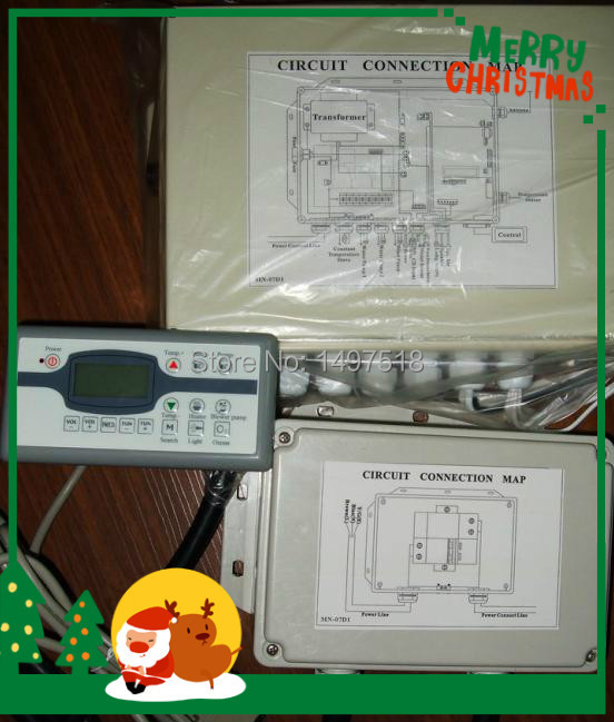hot tub spa control system MN07D1Monalisa  full set for 2 pump spa ,control panel and control box  jazzi and winer replacementhot tub spa control system MN07D1Monalisa  full set for 2 pump spa ,control panel and control box  jazzi and winer replacement