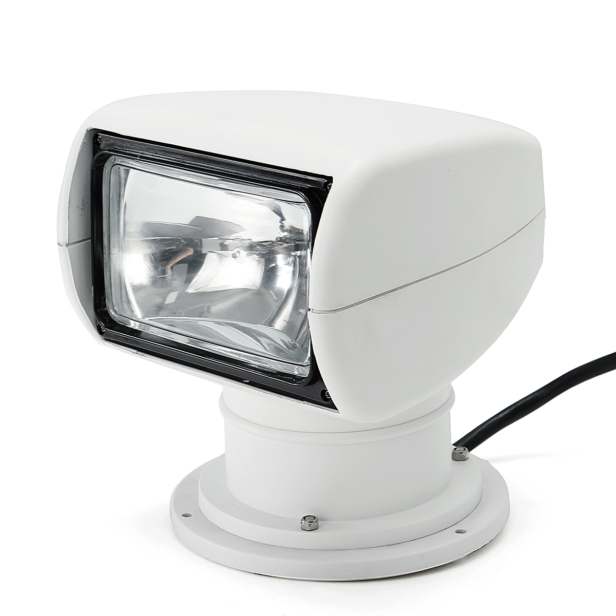 Image 3 - Smuxi Spotlight 12V 100W 2500LM 3200K Marine Searchlight Light Bulb PC+Aluminum Remote Control Multi angled White-in LED Spotlights from Lights & Lighting