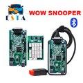 2017 Mais Novo V5.008 R2 WoW SNOOPER Com Bluetooth ativar livre Carro Ferramenta de Diagnóstico de caminhão Novo WOW VCI Melhor Do Que TCS CDP PRO