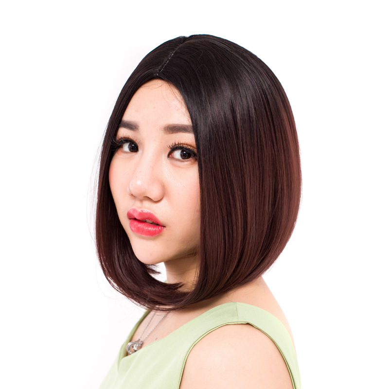High quality hair wear 190g 30cm synthetic short hair jewelry extension hair accessories as fashion womens bobo wigs