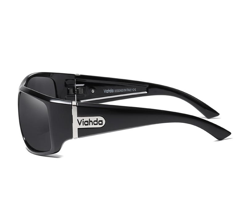 Image 4 - VIAHDA DESIGN Men Classic Polarized Sunglasses Male Sport Fishing Shades Eyewear UV400 Protection-in Men's Sunglasses from Apparel Accessories