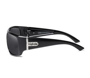 Image 4 - VIAHDA DESIGN Men Classic Polarized Sunglasses Male Sport Fishing Shades Eyewear UV400 Protection