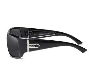 Image 4 - Viahdaデザイン男性古典的な偏光サングラス男性スポーツ釣りシェード眼鏡UV400保護
