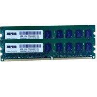 RAM 4GB (2x 2GB) DDR2 800MHz 2GB 2Rx8 PC2 6400E Unbuffered ECC Memory for DELL SC440 SC430 T100 T105 Server