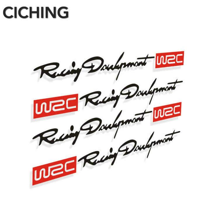 4 x 新加入 WRC 車のドアハンドルのステッカーデカール起亜リオ K2 K3 K4 K5 KX3 KX5 セラート、、ソウル、フォルテ Sportage R 、ソレントオプティマ