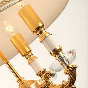 Image 5 - Fashion ofhead k9 crystal table lamp luxury high quality crystal table lamp for bedroom lobby table lamp abajur de mesa lamparas