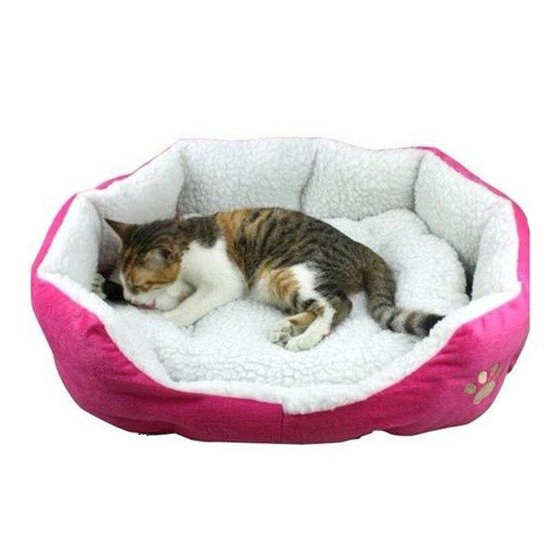 New Cute Comfortable Soft Cotton Footprints Design Style Pet Nest Dog Bed Cat Bed Waterloo Pet Sonno Cuccia Confortevole Hot #4