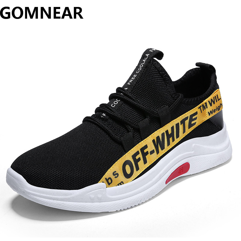 GOMNEAR Autumn Sneakers For Men Outdoor Men Runnig Shoes Male Comfortable Walking Jogging Athletic Train Trekking Tourism Boots
